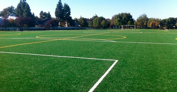 Стойкое спортивное газонное покрытие