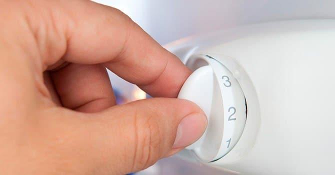 Механическое управление холодильником