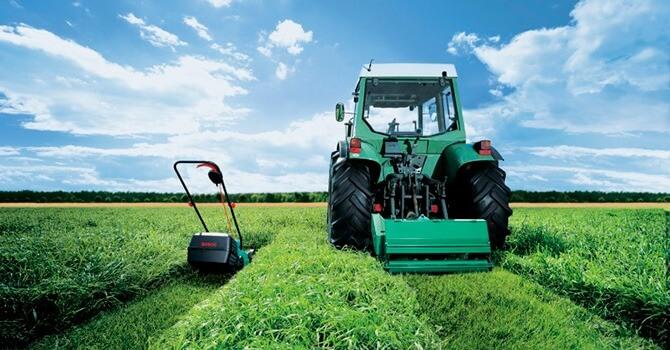 Ширина скашивания травы