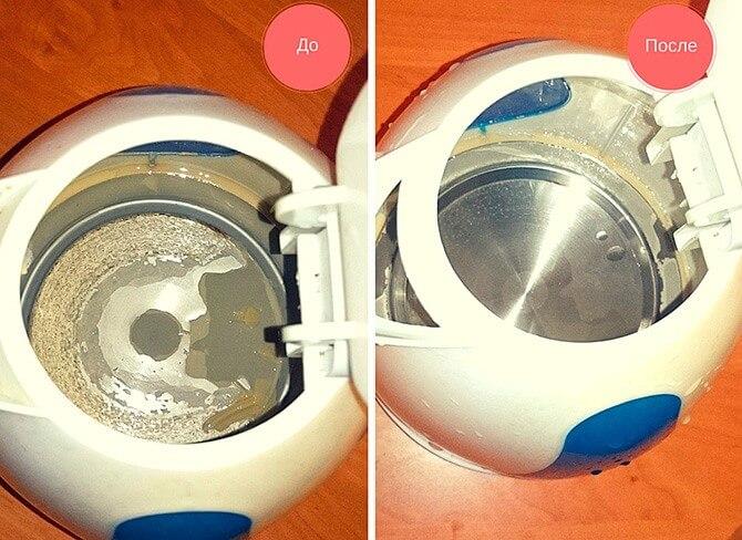 Как почистить чайник лимонкой