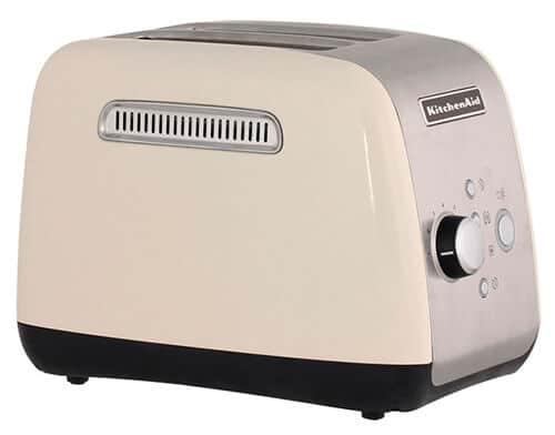 Бежевый тостер KitchenAid 5KMT221EAC