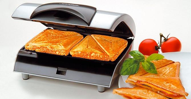 Горизонтальный сэндвич-тостер