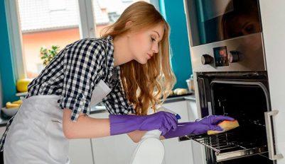Как отмыть духовку