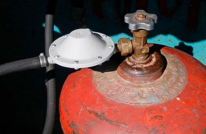Стабилизатор давления на газовый баллон