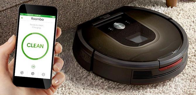 Управление пылесосом через Wi-Fi