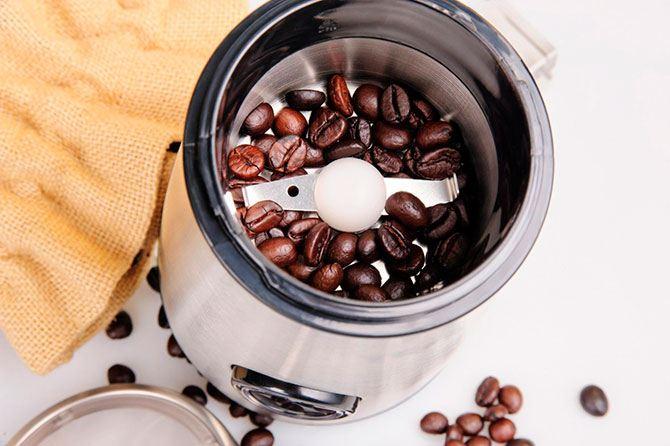 Ротационная кофемолка