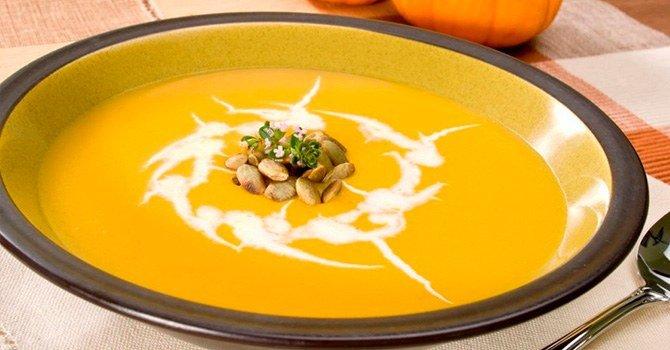 Тыквенный суп - простой пошаговый рецепт приготовления дома
