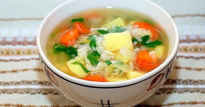 Суп из риса