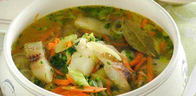 Готовим рыбный суп