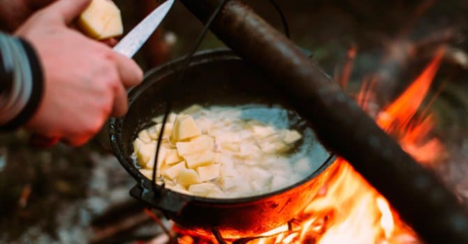 Рыбный суп по-старорусски