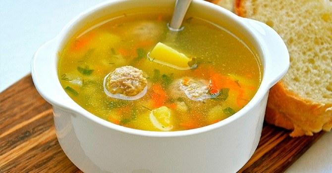 Суп из щавеля с грибами