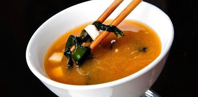 Классический суп мисо