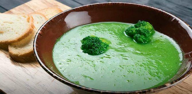 Рецепт крем-супа из брокколи