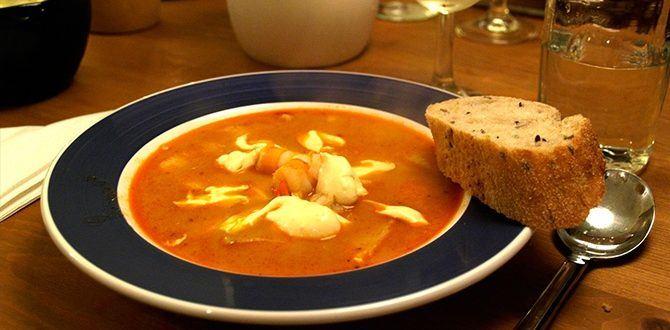Рецепт супа буйабес