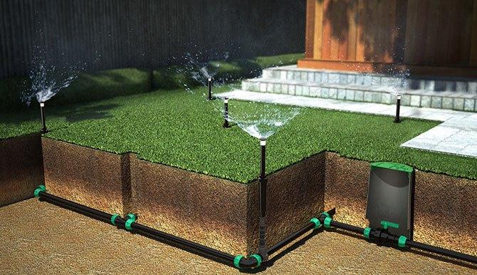 Спринклерная система полива