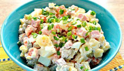 Рецепт зимнего салата