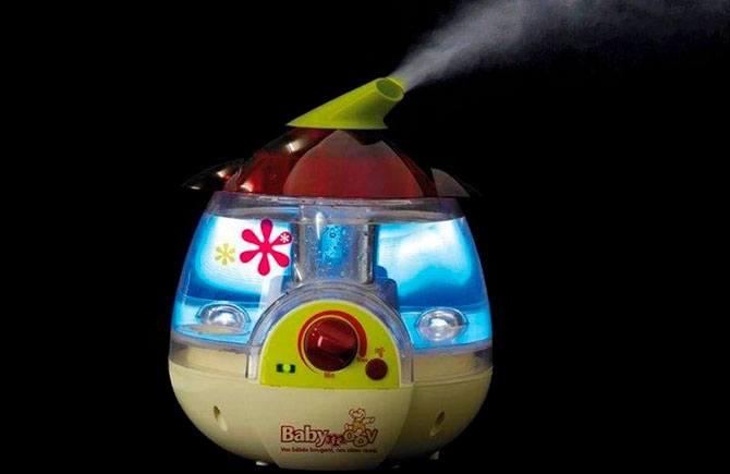 Аппарат с подсветкой в детскую