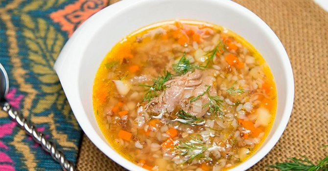 Рецепт гречневого супа