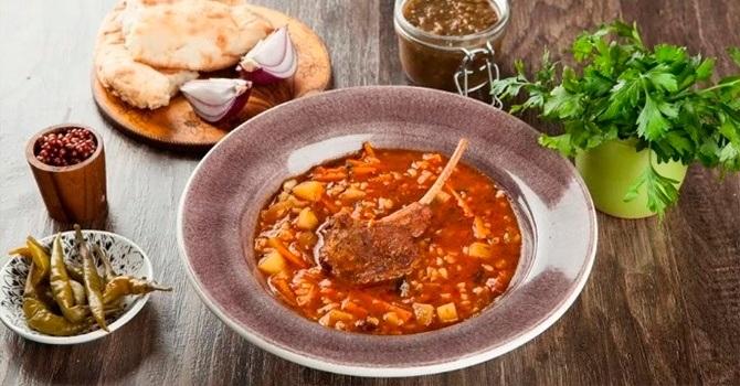 Рецепт харчо из баранины