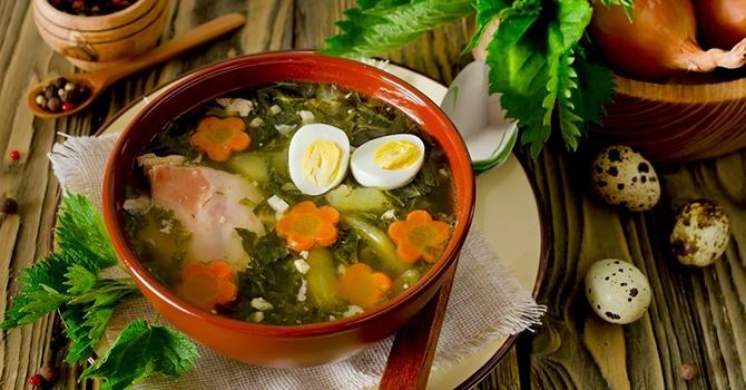 Рецепт супа щи из крапивы