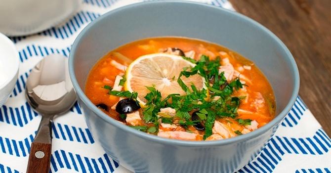 Рецепт солянки с капустой