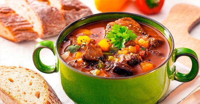 Супы из говядины - рецепты приготовления
