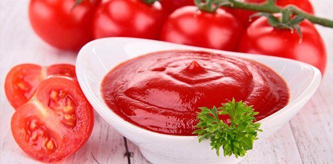 Рецепт кетчупа