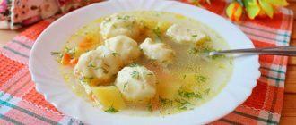 Рецепт клецек из манки для супа