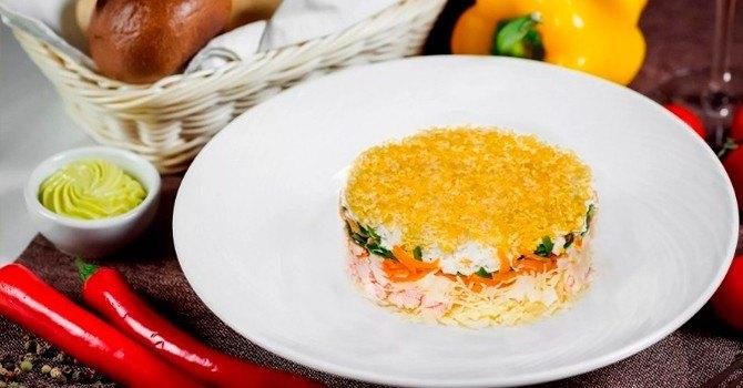 Рецепт салата мимоза с горбушей