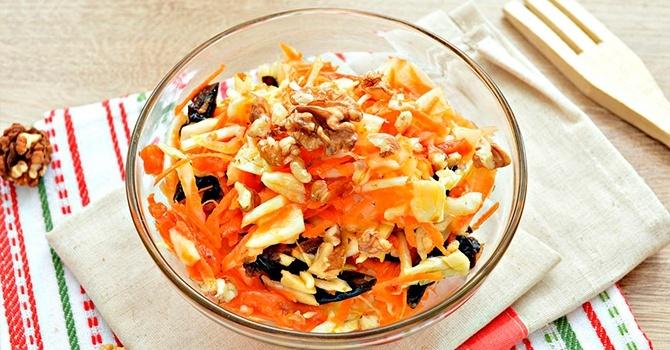 Рецепт салата витаминный