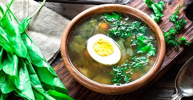 Рецепт супа щи из щавеля