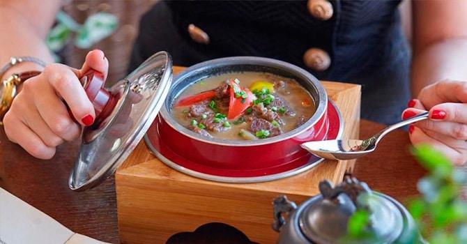 Рецепт супа с 3 видами перца