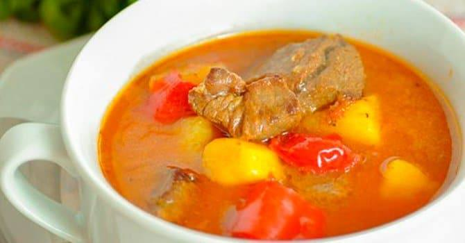 Венгерский рецепт супа