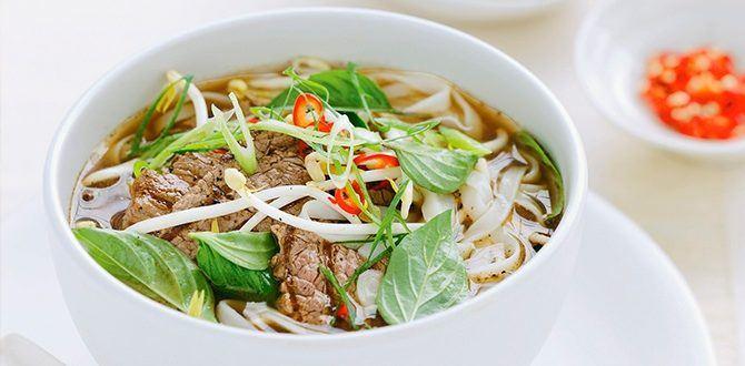 Рецепт вьетнамского супа фо бо