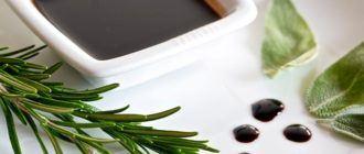 Рецепт бальзамического соуса