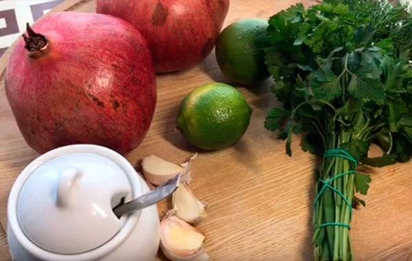 Гранатовый соус – рецепт приготовления в домашних условиях
