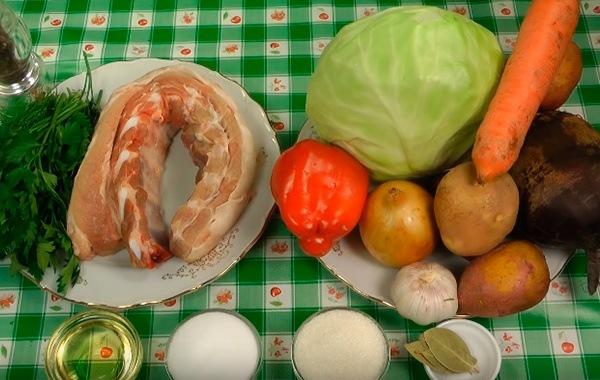 Украинский борщ - пошаговый рецепт с фото и видео от Всегда Вкусно!