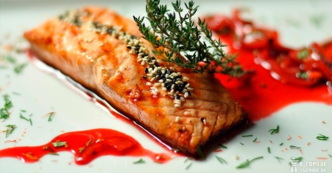 К рыбным блюдам