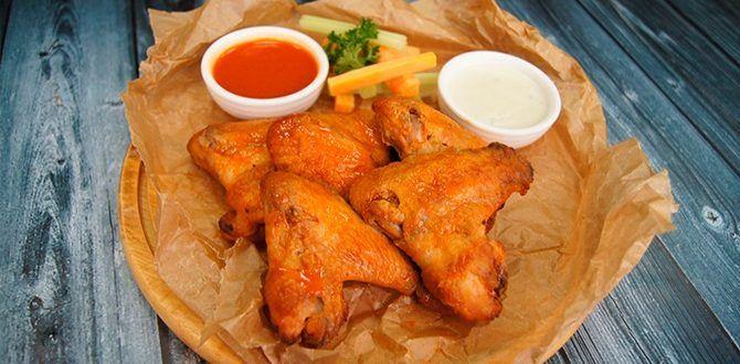 Рецепт крыльев баффало