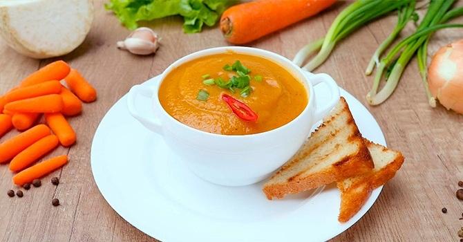 Рецепт с морковью
