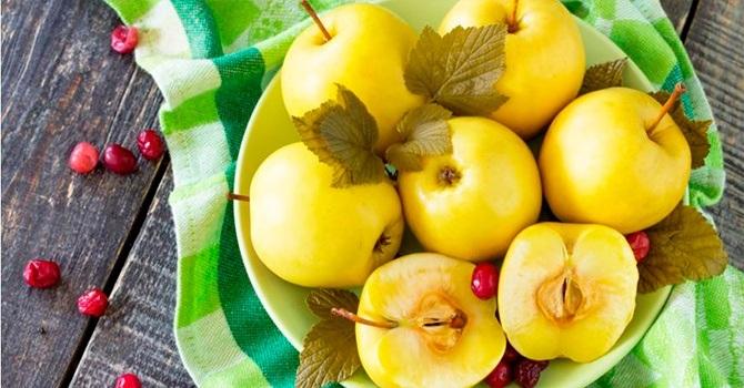 Вымачиваем яблоки