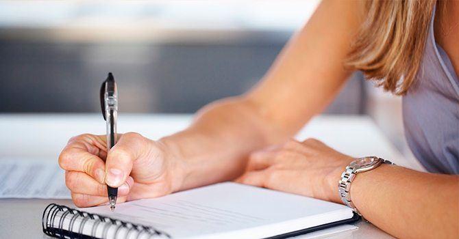 Записываем свои мысли и анализируем ошибки