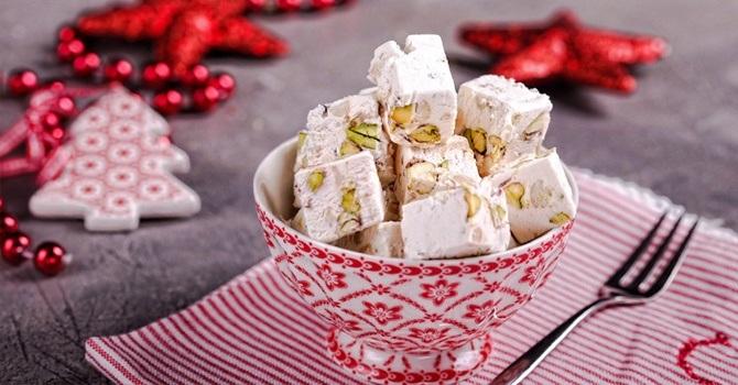 Рецепт нуги из белого шоколада