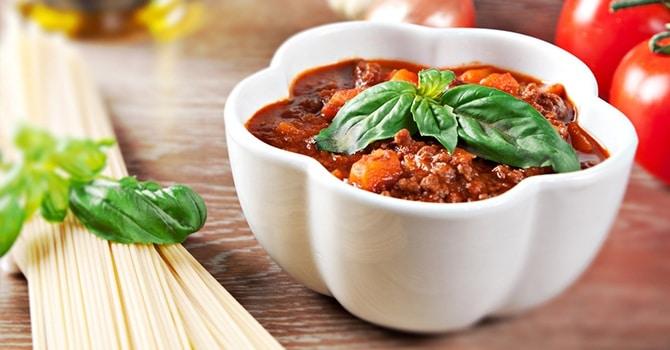 Рецепт соуса болоньезе