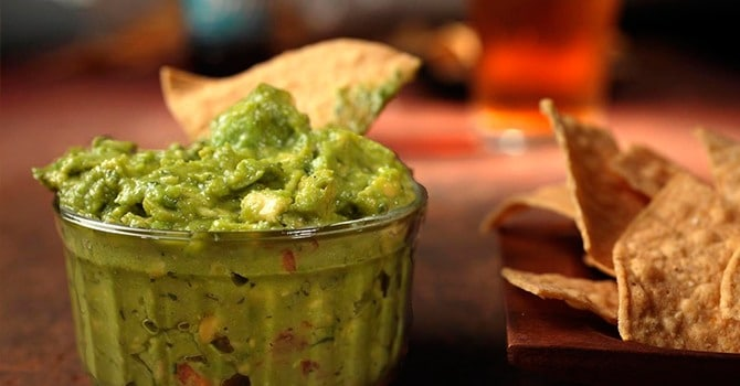 Рецепт гуакамоле с огурцом