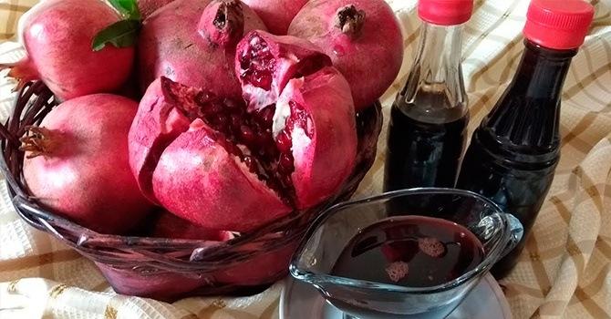 Рецепт соуса наршараб