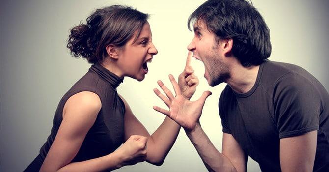 Ссоры естественны для пары