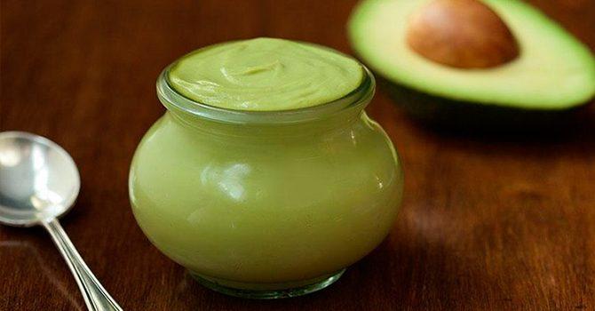 Рецепт из авокадо