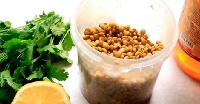 Рецепт из чечевицы