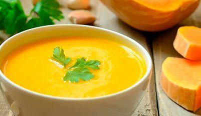 Рецепт тыквенного супа-пюре со сливками